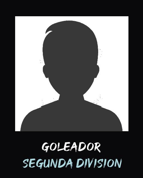 Mejor goleador Segunda 1 Anual 2019