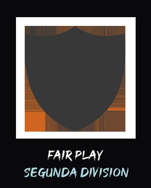 Mejor fair play Segunda 1 Anual 2019